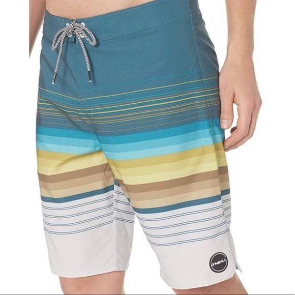 """O/'Neill  21/"""" Boardshorts Size 34 36 38 NWOT"""